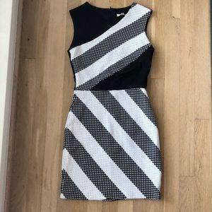 Shoshanna tank cut out mini dress